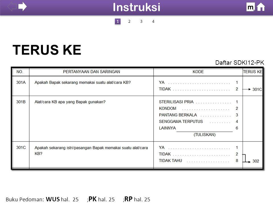 TERUS KE Instruksi m Daftar SDKI12-PK