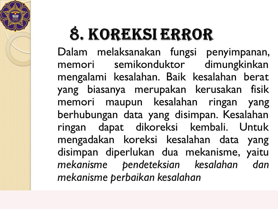 8. Koreksi Error