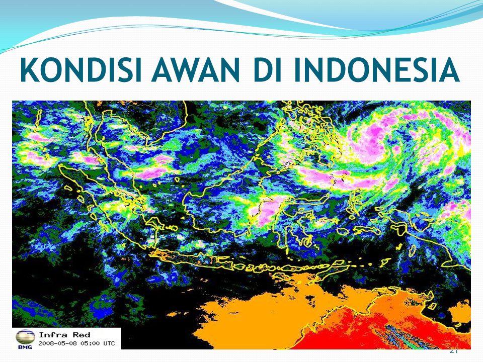 KONDISI AWAN DI INDONESIA