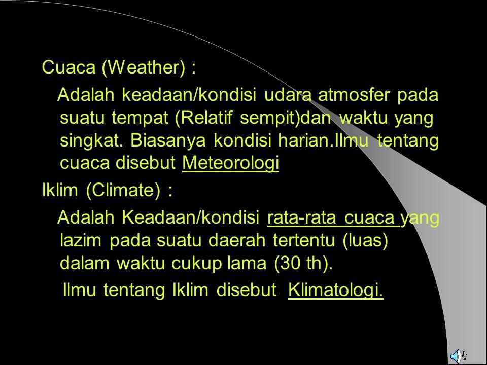 Cuaca (Weather) :