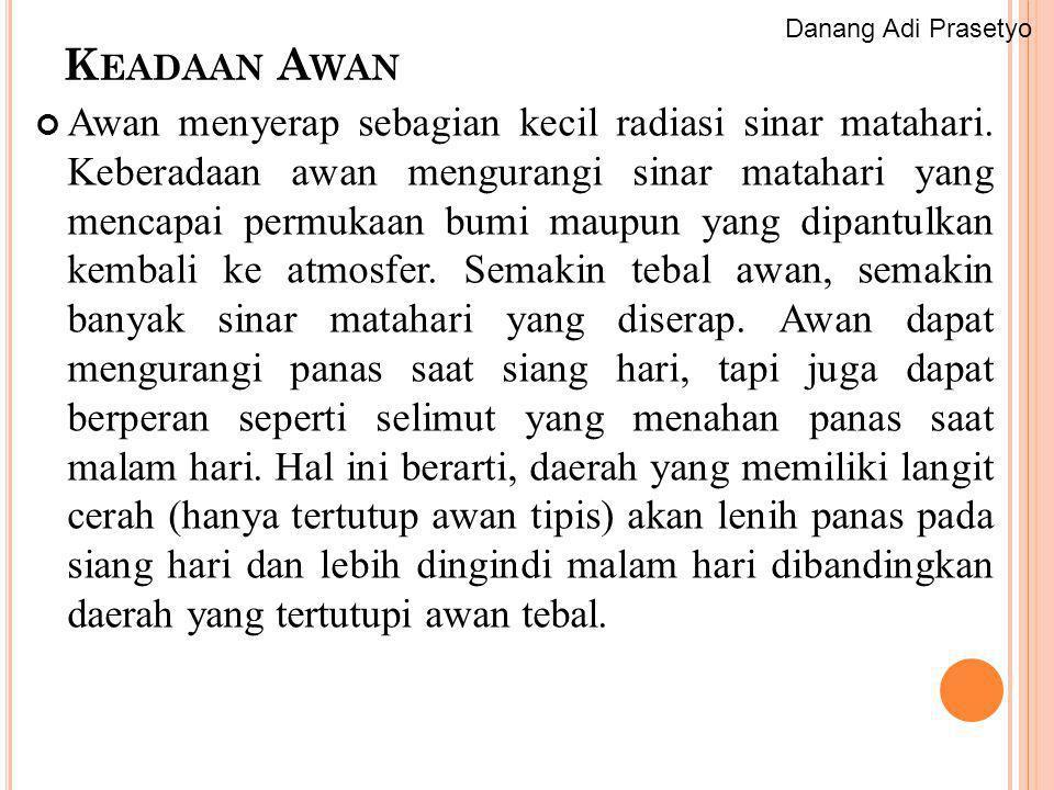 Danang Adi Prasetyo Keadaan Awan.