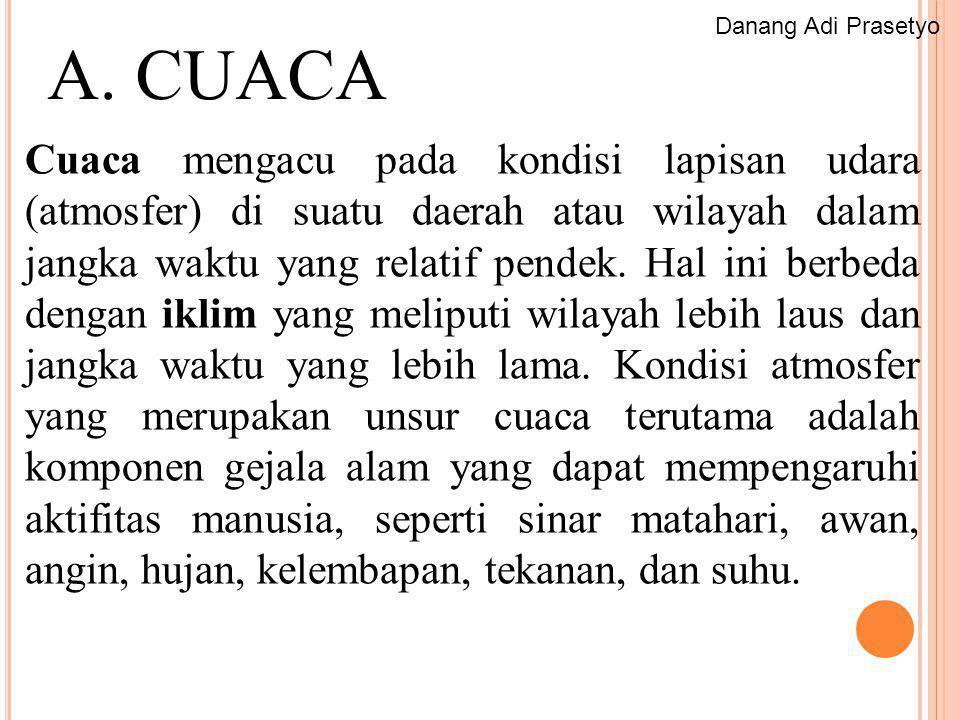 Danang Adi Prasetyo A. CUACA.