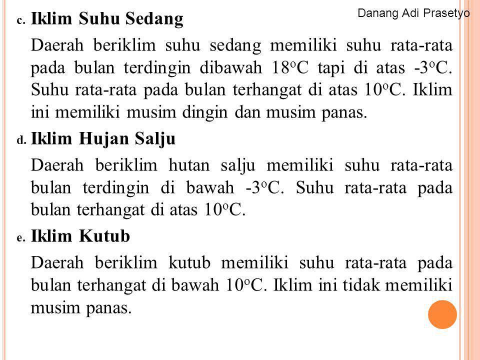 Iklim Suhu Sedang