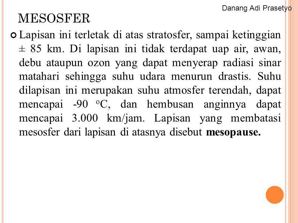 Danang Adi Prasetyo MESOSFER.