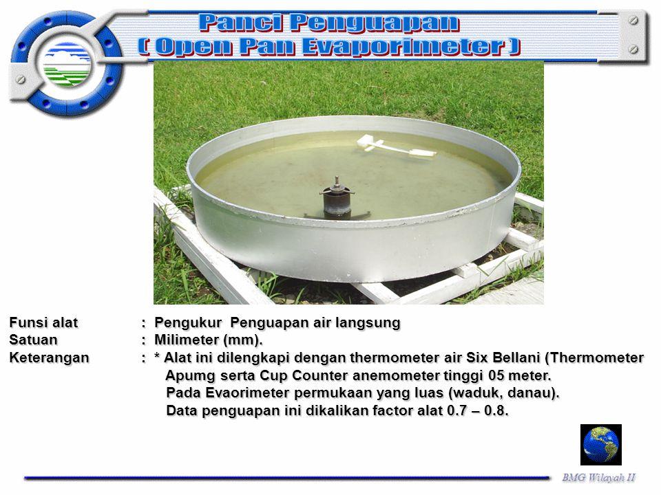 ( Open Pan Evaporimeter )
