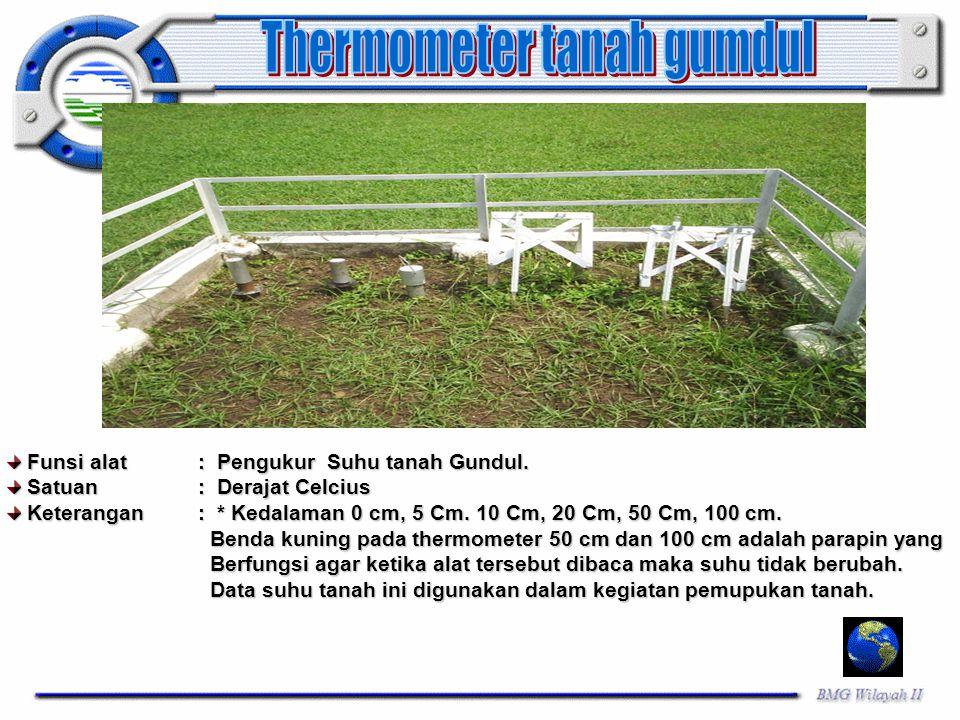 Thermometer tanah gumdul