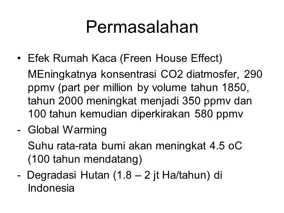 Permasalahan Efek Rumah Kaca (Freen House Effect)