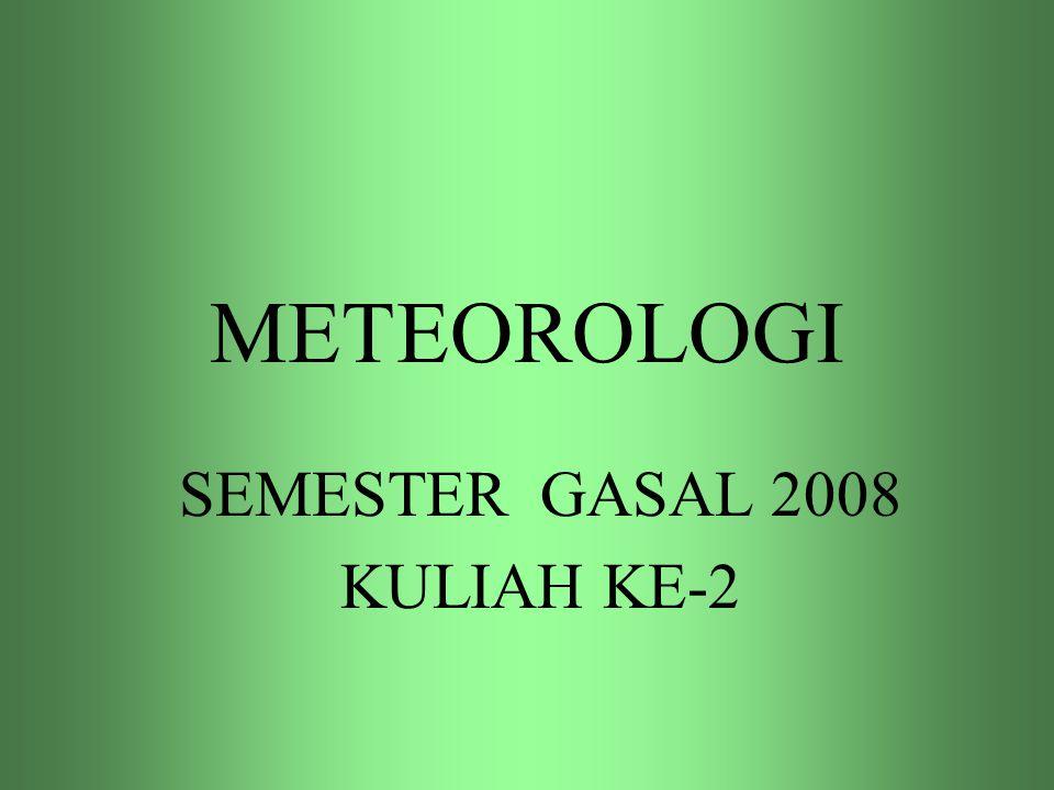 SEMESTER GASAL 2008 KULIAH KE-2