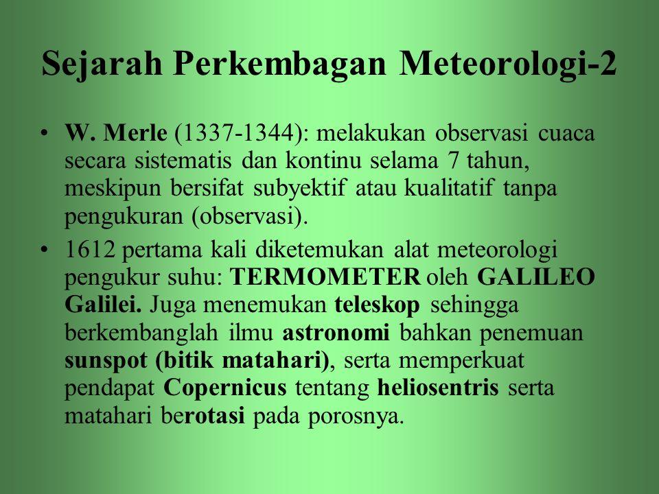Sejarah Perkembagan Meteorologi-2