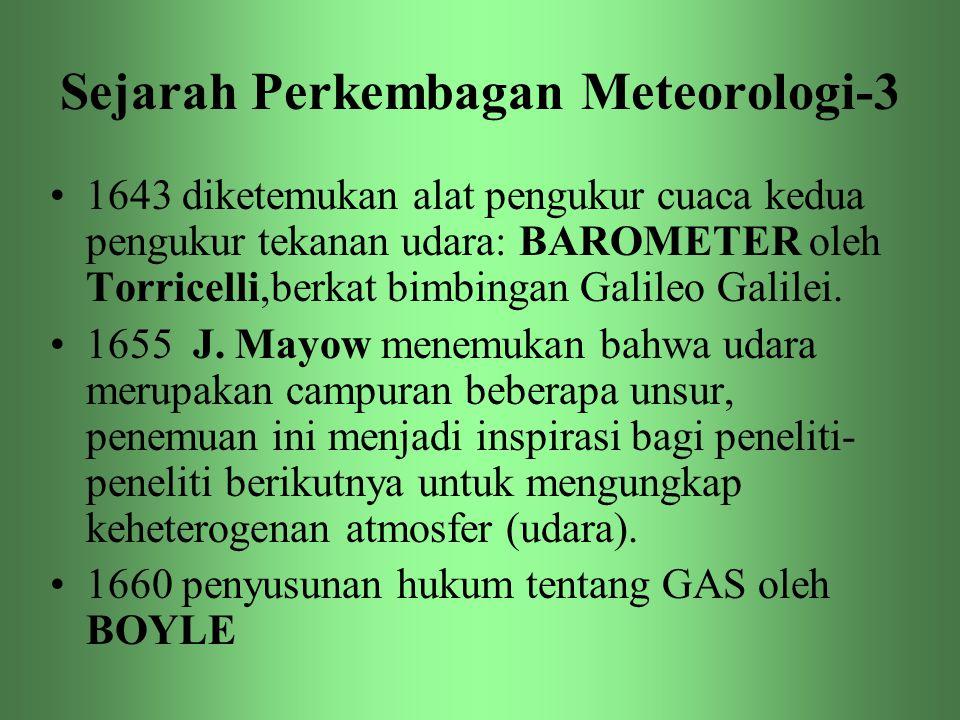 Sejarah Perkembagan Meteorologi-3