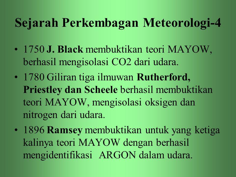 Sejarah Perkembagan Meteorologi-4