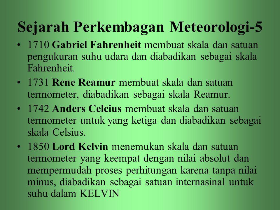 Sejarah Perkembagan Meteorologi-5