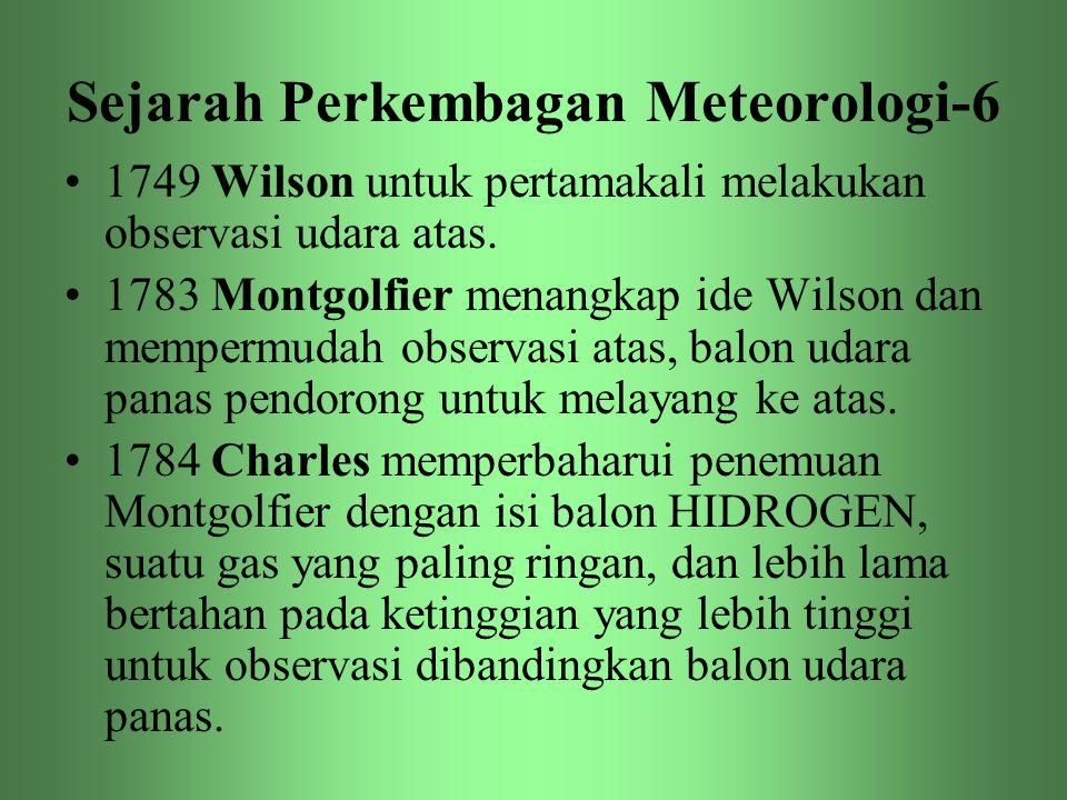 Sejarah Perkembagan Meteorologi-6