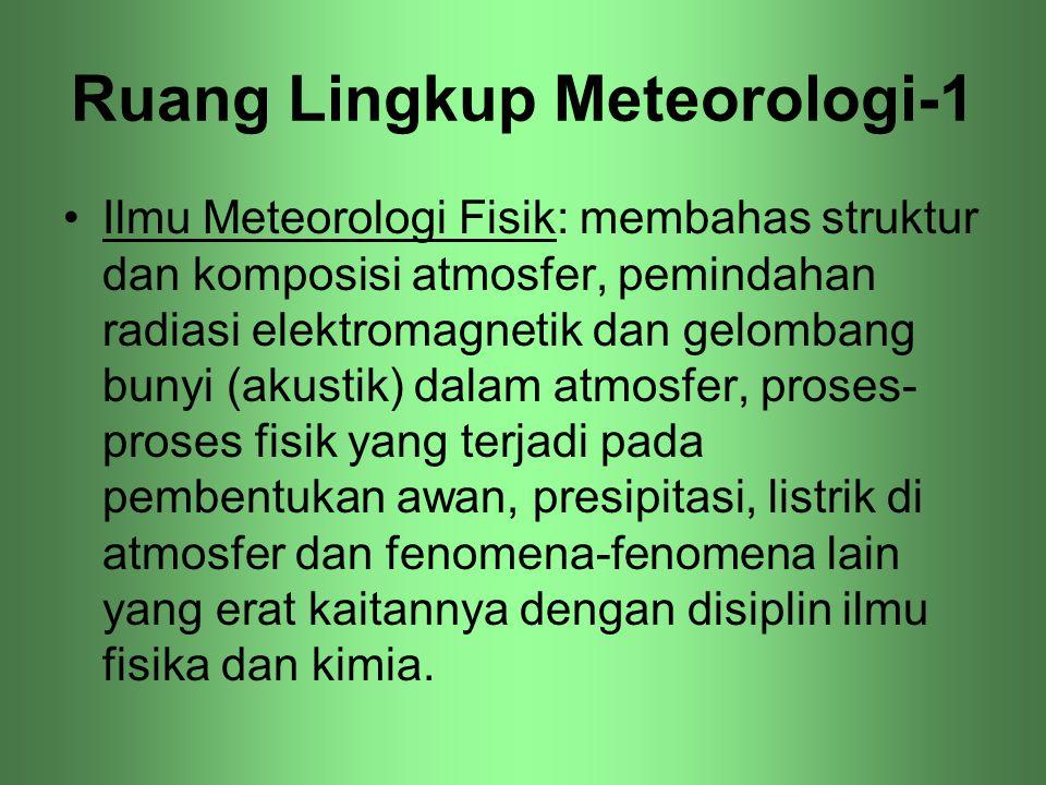 Ruang Lingkup Meteorologi-1