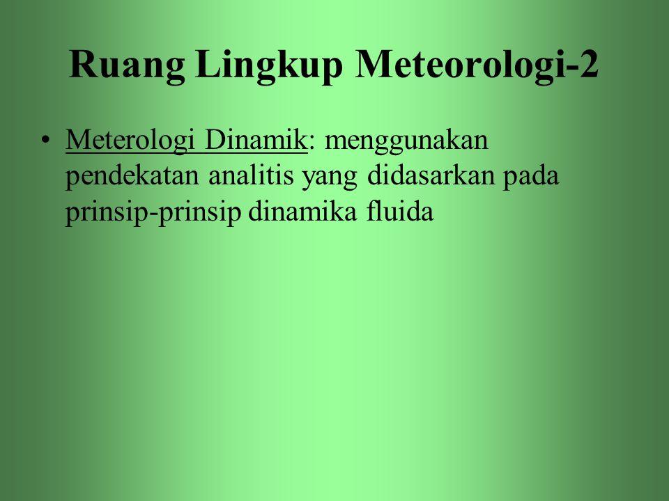 Ruang Lingkup Meteorologi-2