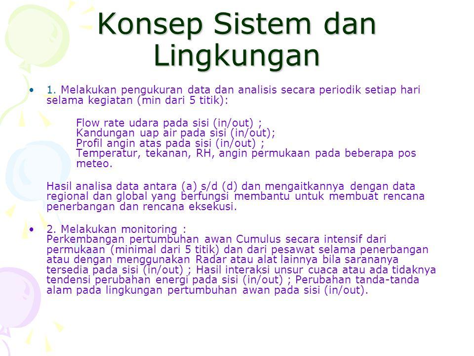 Konsep Sistem dan Lingkungan