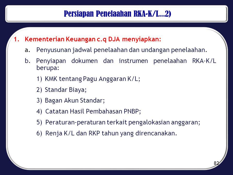 Persiapan Penelaahan RKA-K/L...2)