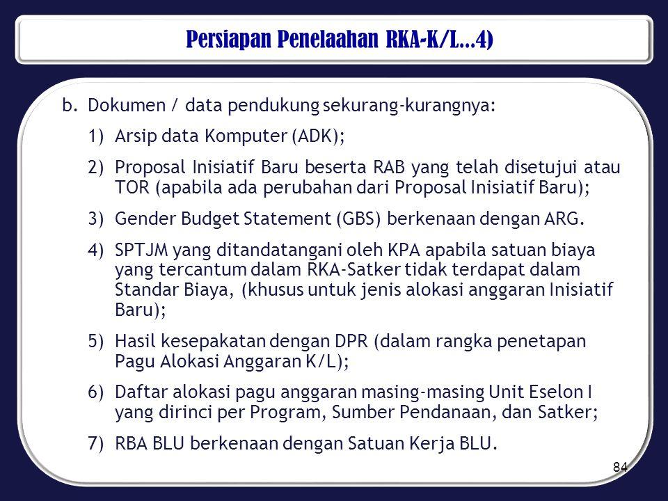 Persiapan Penelaahan RKA-K/L...4)