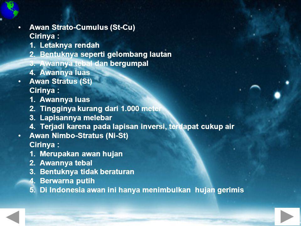 Awan Strato-Cumulus (St-Cu)