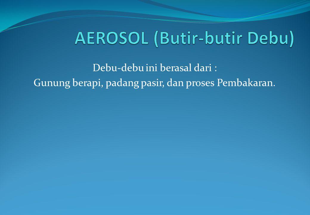 AEROSOL (Butir-butir Debu)
