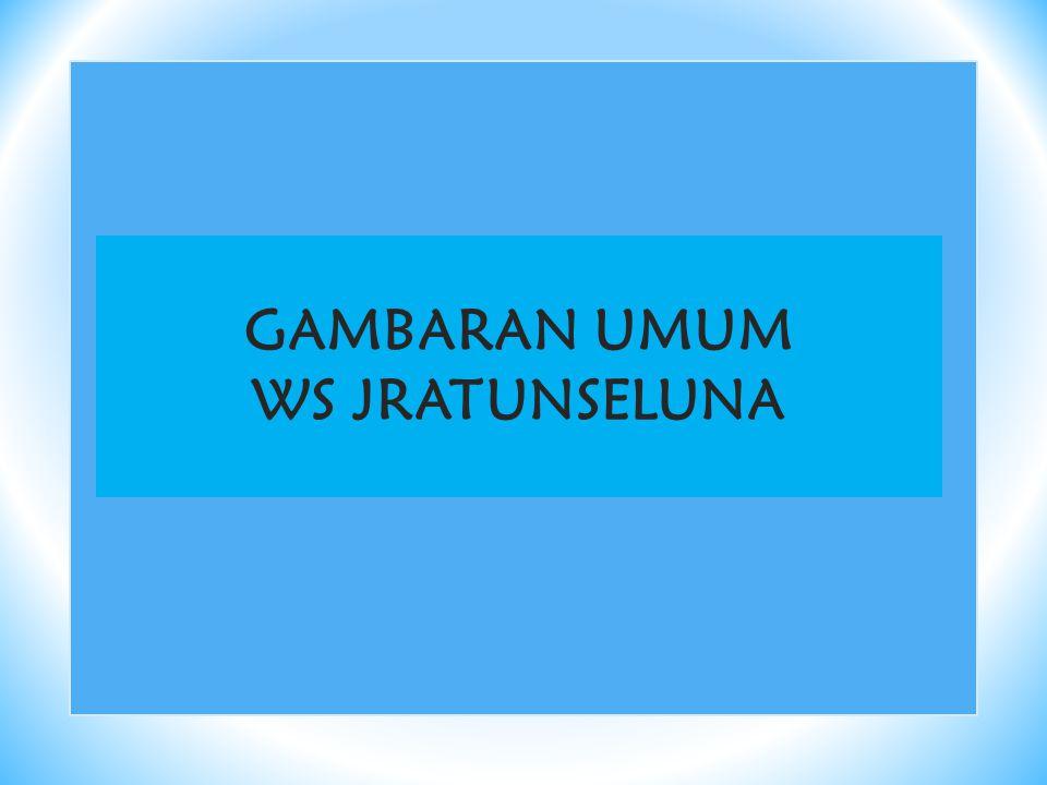 GAMBARAN UMUM WS JRATUNSELUNA