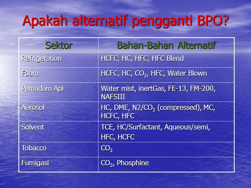 Apakah alternatif pengganti BPO