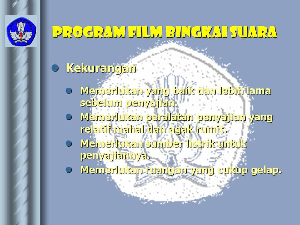 Program film bingkai suara