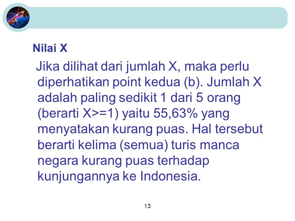 Nilai X