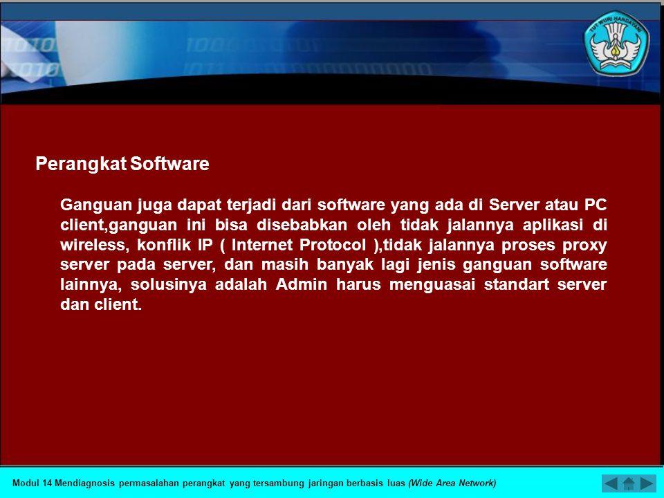 Perangkat Software