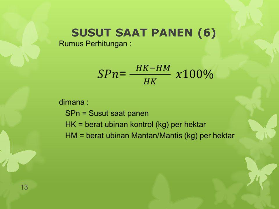 SUSUT SAAT PANEN (6)
