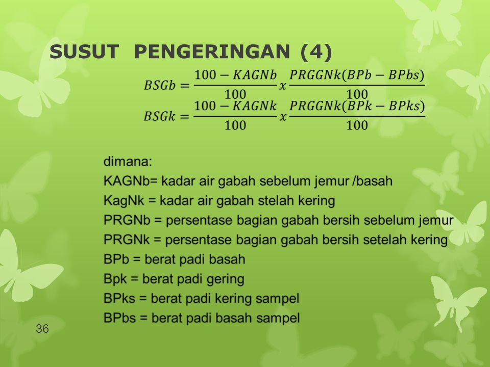 SUSUT PENGERINGAN (4)