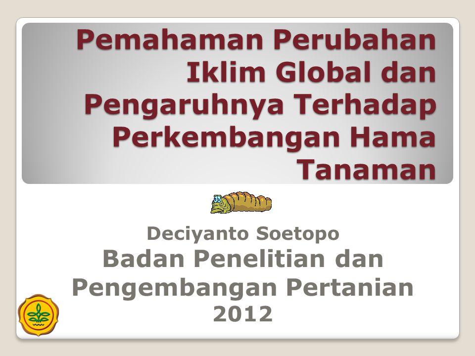 Deciyanto Soetopo Badan Penelitian dan Pengembangan Pertanian 2012