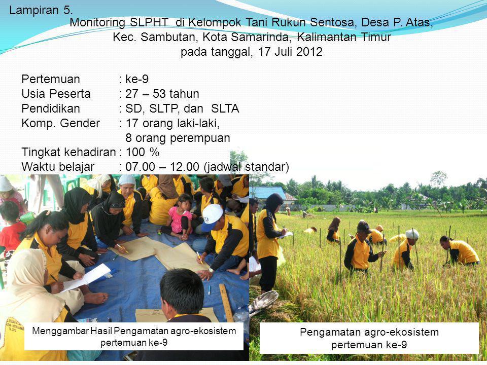Pendidikan : SD, SLTP, dan SLTA Komp. Gender : 17 orang laki-laki,