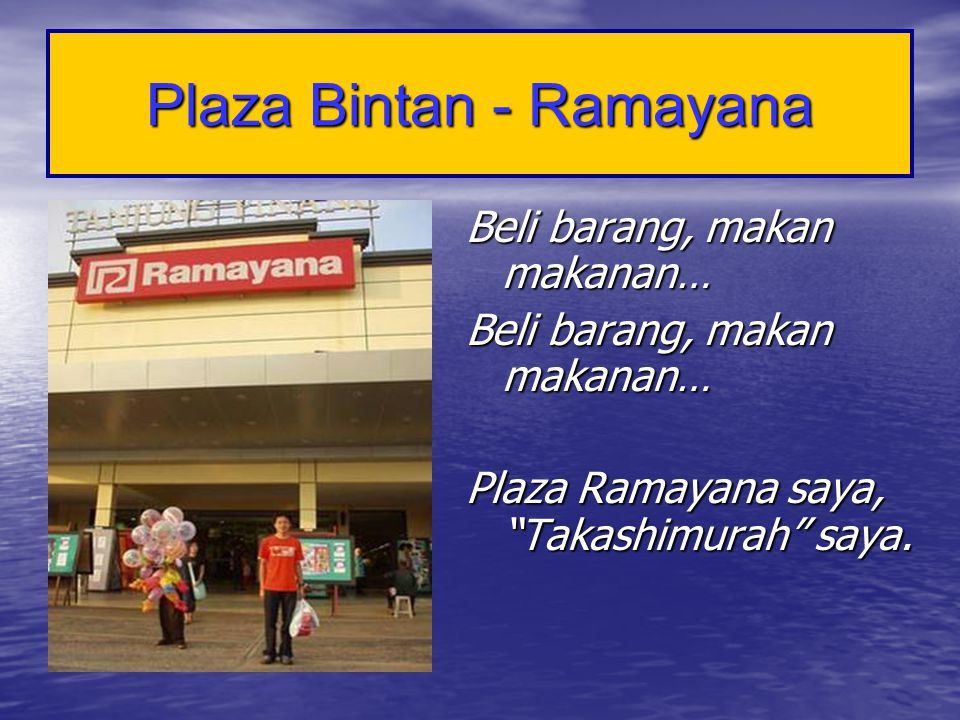 Plaza Bintan - Ramayana