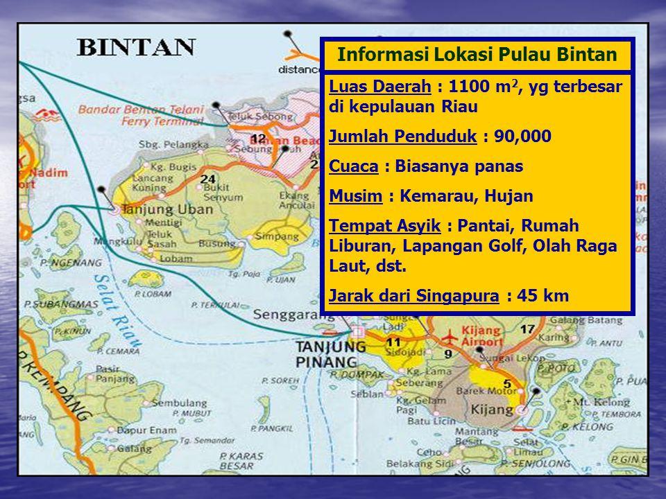 Informasi Lokasi Pulau Bintan