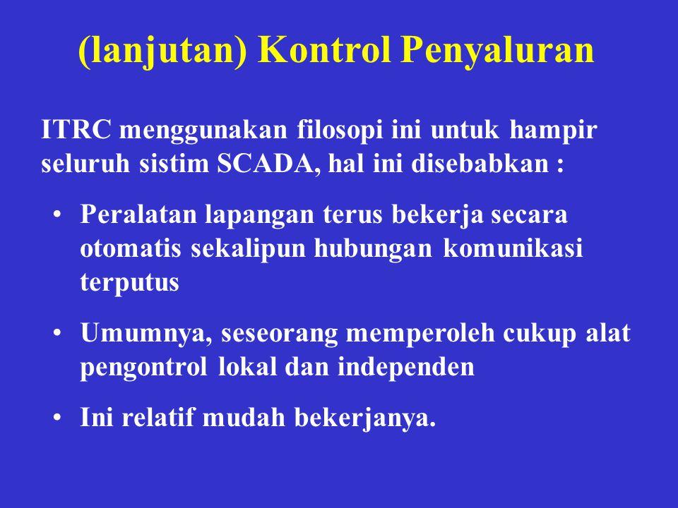 (lanjutan) Kontrol Penyaluran
