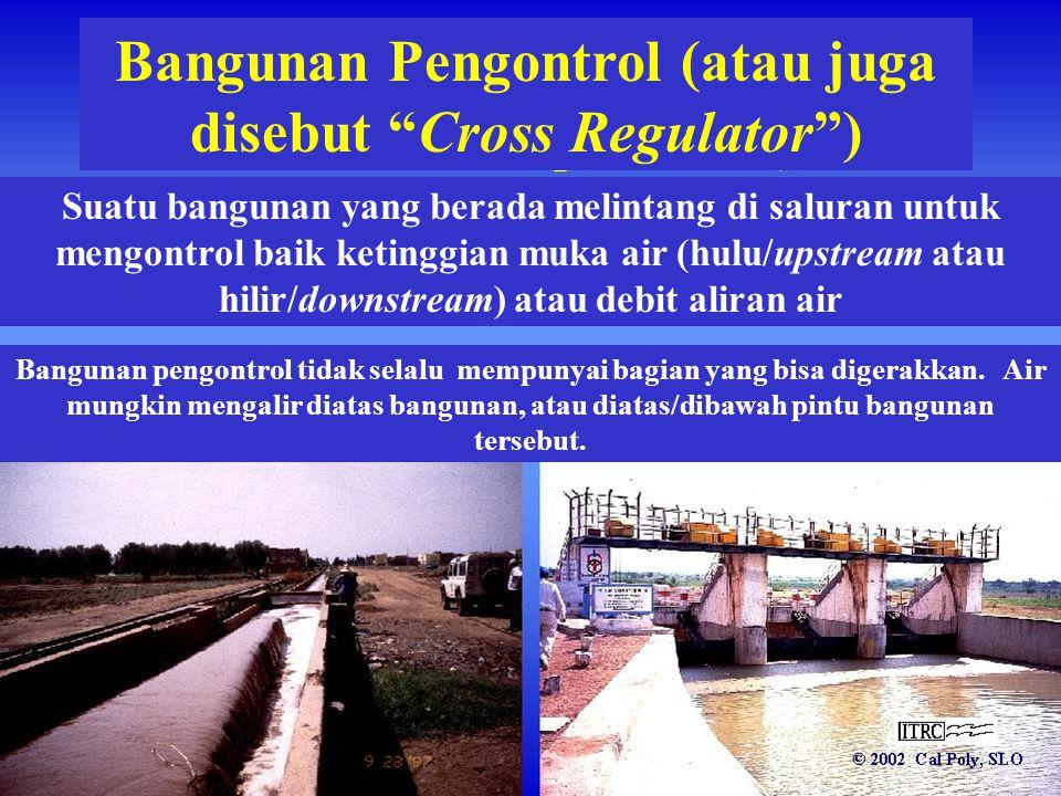 Bangunan Pengontrol (atau juga disebut Cross Regulator )
