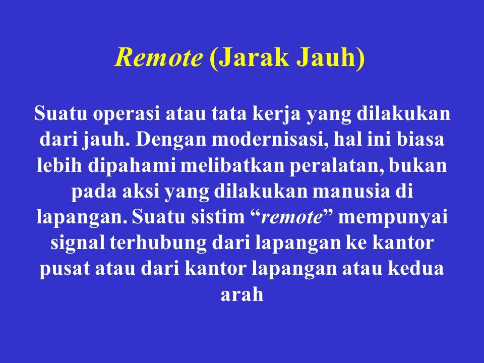 Remote (Jarak Jauh)