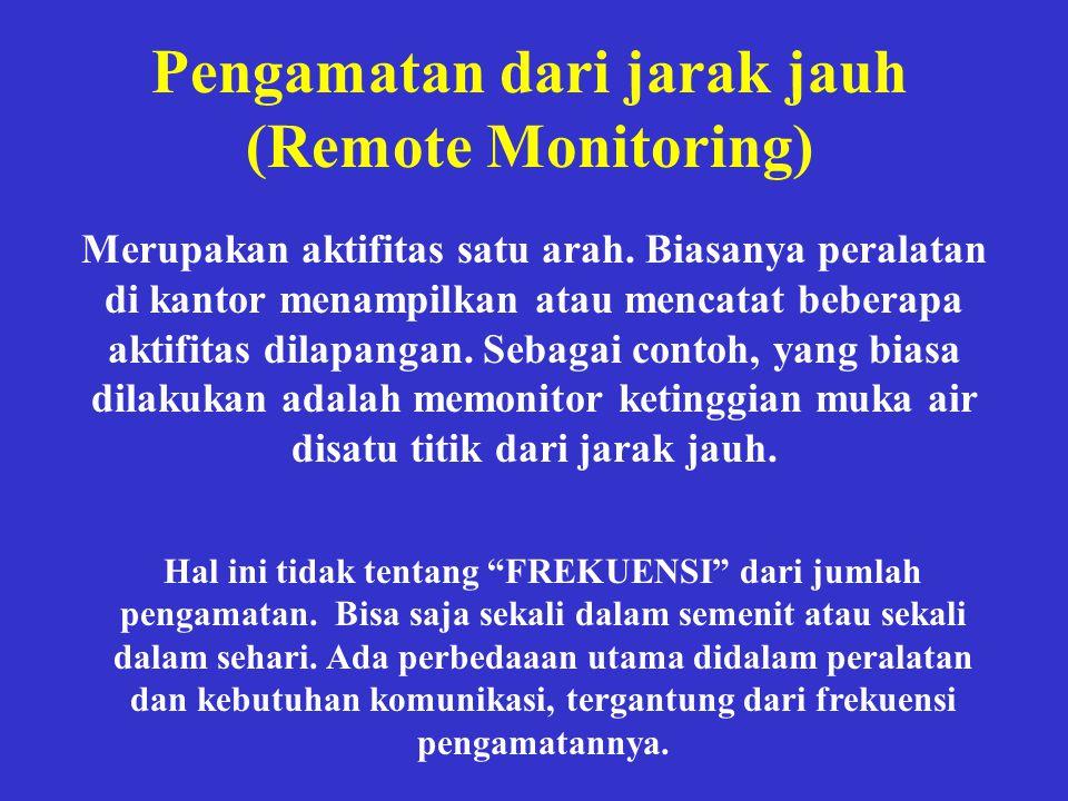 Pengamatan dari jarak jauh (Remote Monitoring)