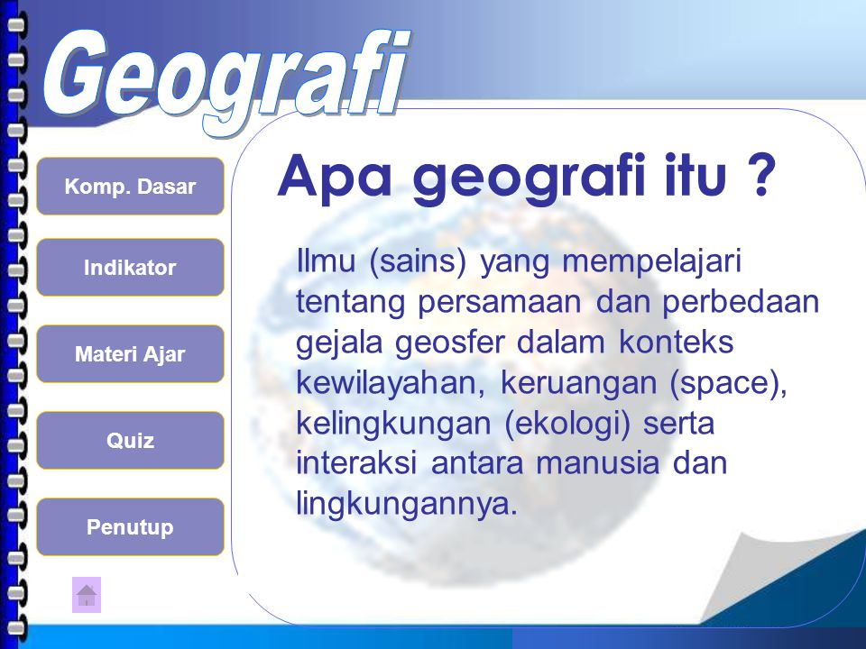 Apa geografi itu