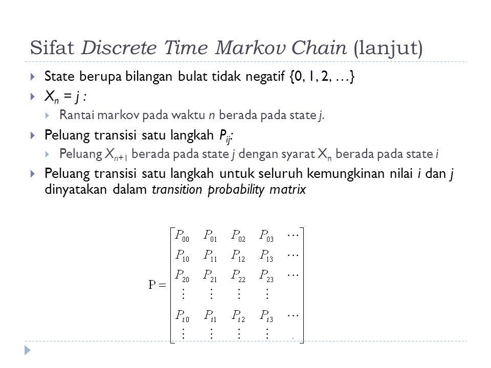 Sifat Discrete Time Markov Chain (lanjut)