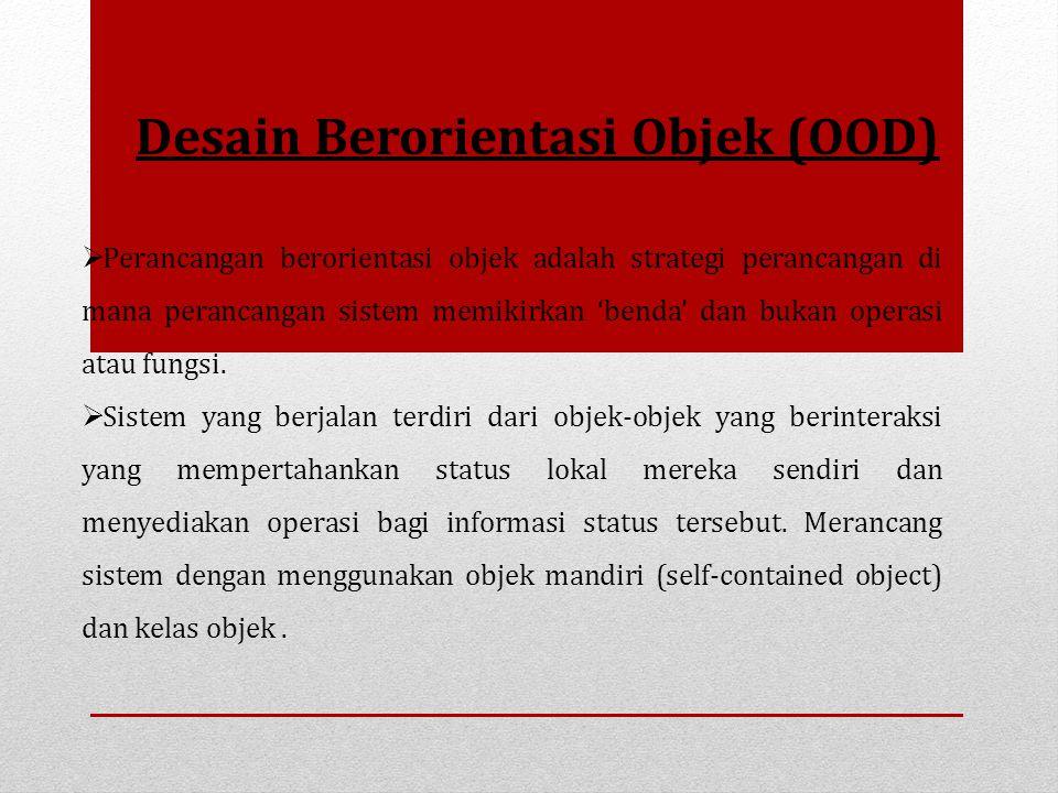 Desain Berorientasi Objek (OOD)