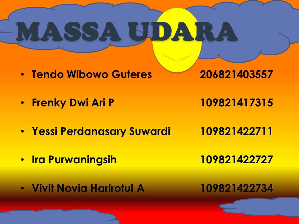 MASSA UDARA Tendo Wibowo Guteres 206821403557