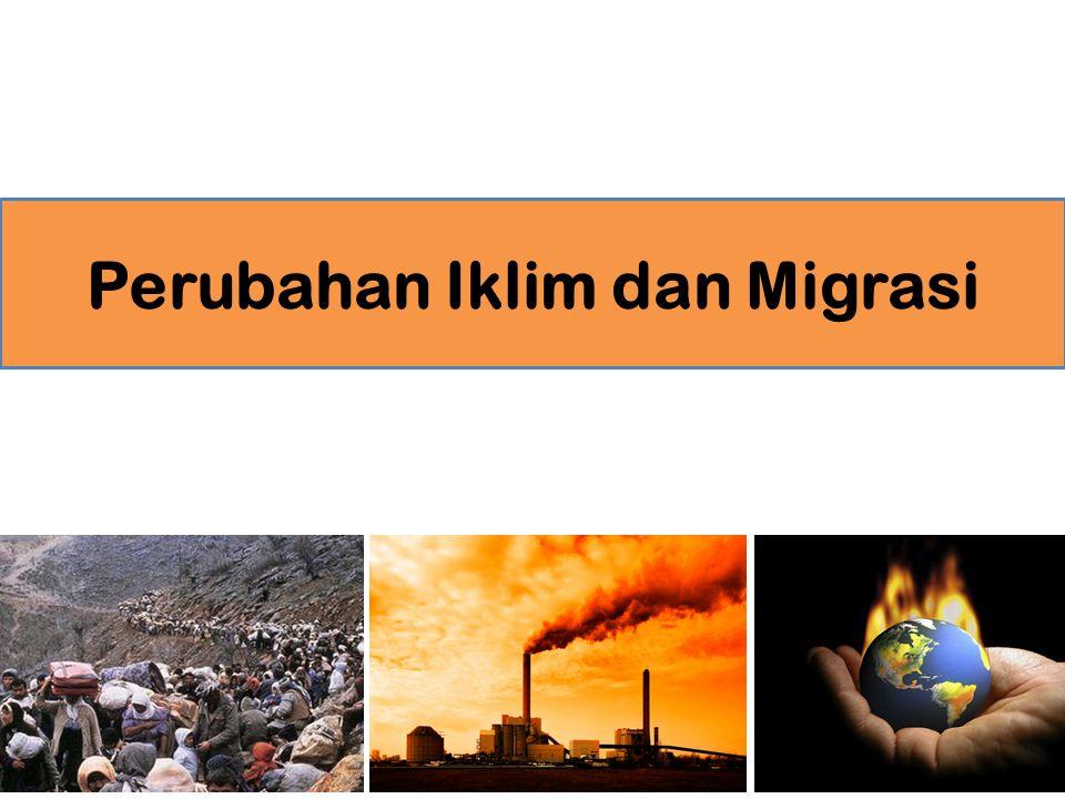 Perubahan Iklim dan Migrasi