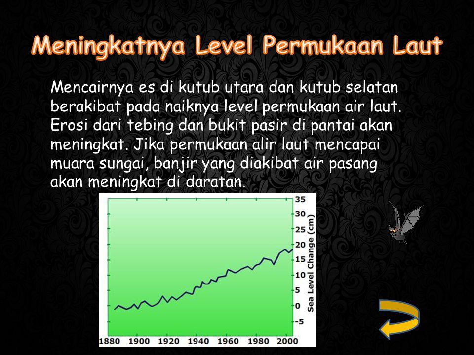 Meningkatnya Level Permukaan Laut