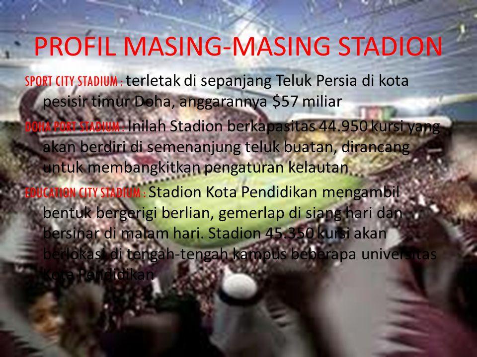 PROFIL MASING-MASING STADION