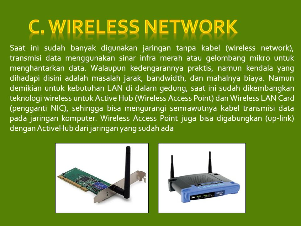 C. Wireless Network