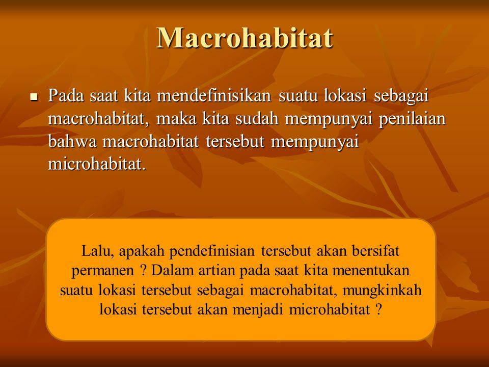 Macrohabitat