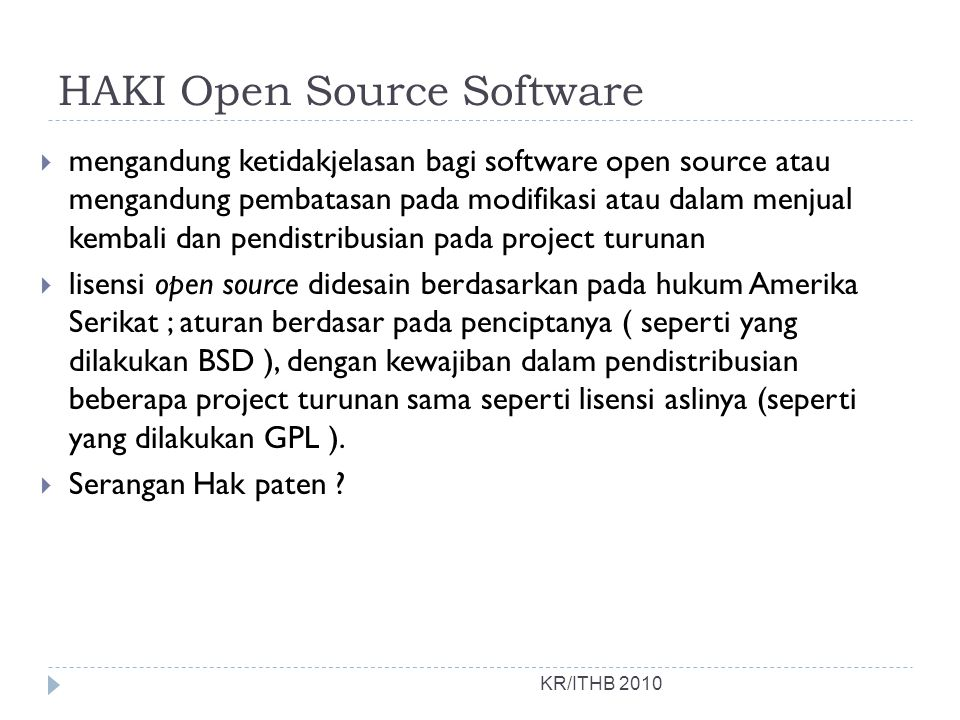 HAKI Open Source Software