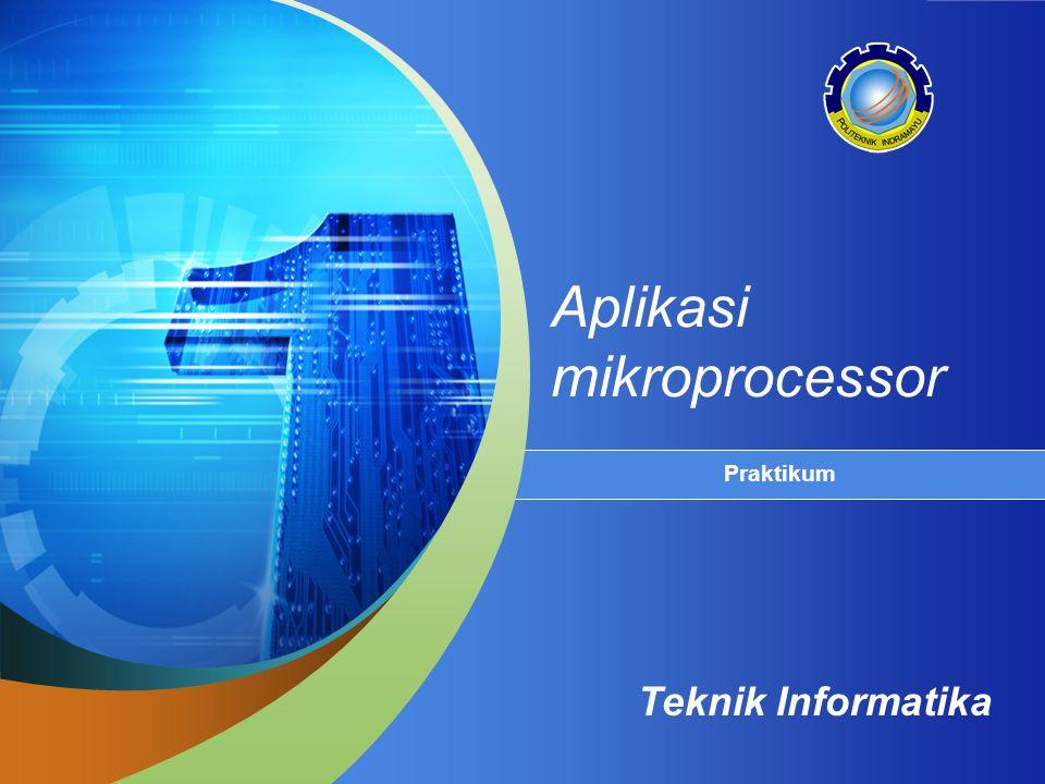 Aplikasi mikroprocessor